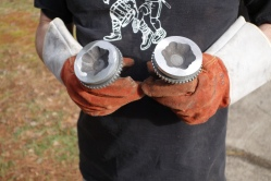 9: A matched set of CV joints.