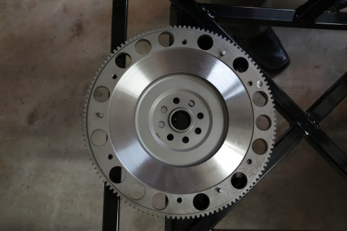 New flywheel.